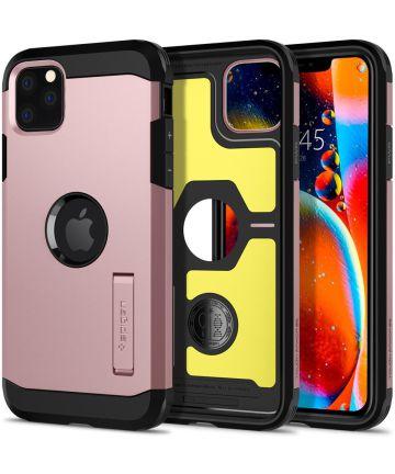 Spigen Tough Armor Case iPhone 11 Pro Max Rose Gold Hoesjes