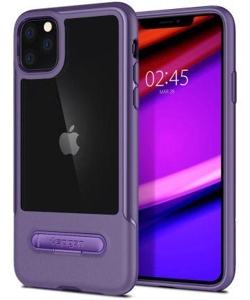 Spigen Slim Armor Essential S Hoesje Apple iPhone 11 Pro Max Paars Hoesjes