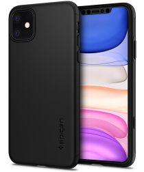 Spigen Thin Fit 360 Apple iPhone 11 Hoesje Zwart