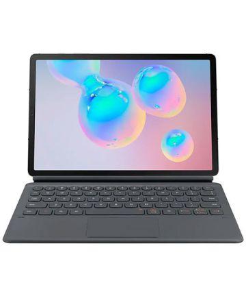 Originele Samsung Book Cover Keyboard Galaxy Tab S6 Hoes Grijs
