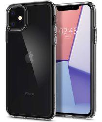 Spigen Crystal Hybrid Apple iPhone 11 Hoesje Transparant