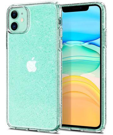 Spigen Liquid Crystal Apple iPhone 11 Hoesje Glitter Transparant Hoesjes