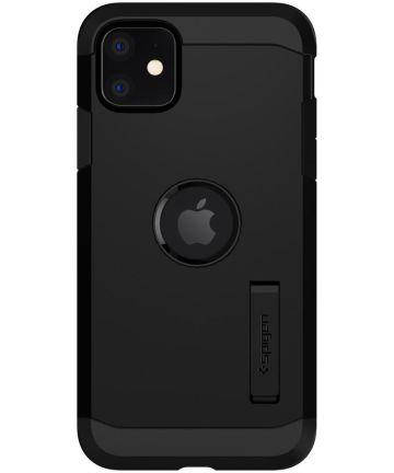 Spigen Tough Armor Apple iPhone 11 Hoesje Zwart Hoesjes