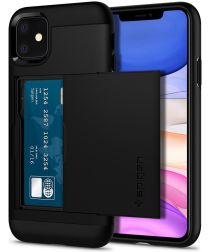 Spigen Slim Armor CS Apple iPhone 11 Hoesje Zwart