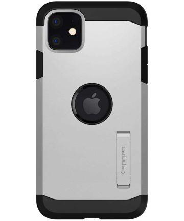 Spigen Tough Armor XP Apple iPhone 11 Hoesje Zilver Hoesjes