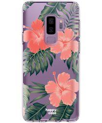 HappyCase Samsung Galaxy S9 Plus Flexibel TPU Hoesje Tropic Vibe Print