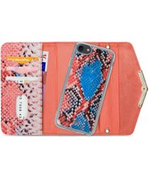 Mobilize Velvet Clutch Apple iPhone 8 / 7 / 6(s) Hoesje Coral Snake