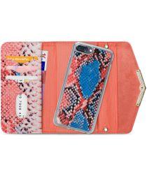 Mobilize Velvet Clutch Apple iPhone 8 / 7 / 6 Plus Hoesje Coral Snake