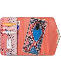 Mobilize Velvet Clutch Samsung Galaxy S9 Hoesje Coral Snake