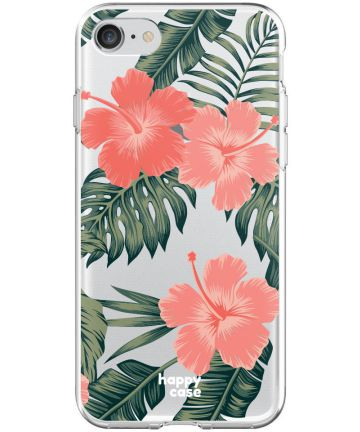 HappyCase Apple iPhone 8 Flexibel TPU Hoesje Tropic Vibe Print Hoesjes