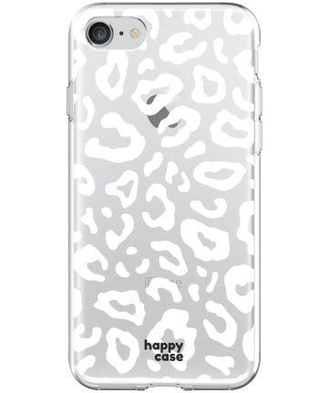 HappyCase Apple iPhone 8 Flexibel TPU Hoesje Luipaard Print