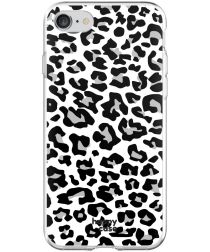 HappyCase Apple iPhone 8 Flexibel TPU Hoesje Panter Print
