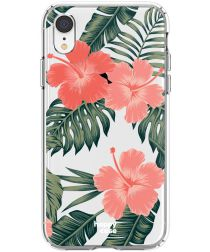 HappyCase Apple iPhone XR Flexibel TPU Hoesje Tropic Vibe Print