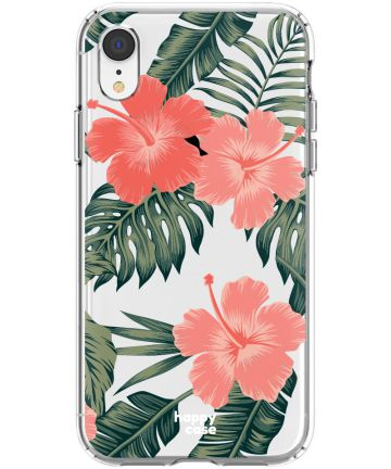 HappyCase Apple iPhone XR Hoesje Flexibel TPU Tropic Vibe Print Hoesjes