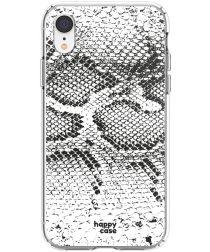 HappyCase Apple iPhone XR Flexibel TPU Hoesje Slangen Print