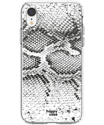 HappyCase Apple iPhone XR Hoesje Flexibel TPU Slangen Print Hoesjes