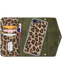 Mobilize Velvet Clutch Apple iPhone SE 2020 / 8 / 7 Hoesje Luipaard