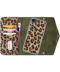 Mobilize Velvet Clutch Apple iPhone SE 2020 / 8 / 7 Hoesje Luipaard
