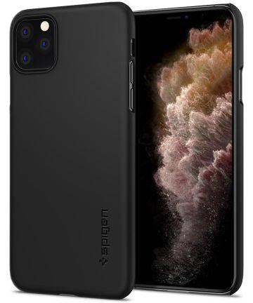 Spigen Thin Fit Apple iPhone 11 Pro Hoesje Zwart Hoesjes