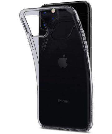 Spigen Liquid Crystal Hoesje Apple iPhone 11 Pro Space Grey Hoesjes