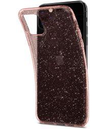 Spigen Liquid Crystal Apple iPhone 11 Pro Hoesje Glitter Roze Goud