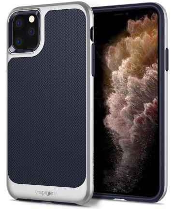 Spigen Neo Hybrid Apple iPhone 11 Pro Hoesje Zilver Hoesjes
