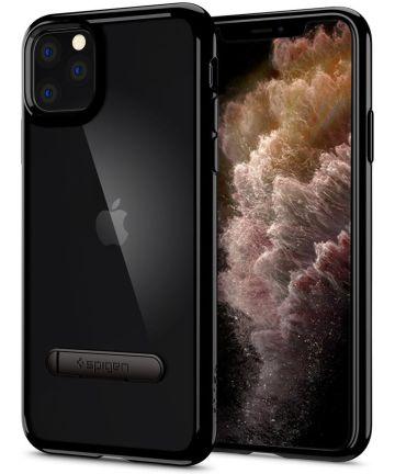 Spigen Ultra Hybrid S Hoesje Apple iPhone 11 Pro Zwart Hoesjes