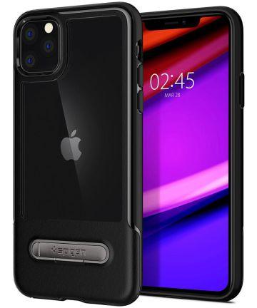 Spigen Slim Armor Essential S Apple iPhone 11 Pro Hoesje Zwart Hoesjes