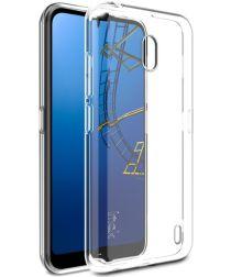 IMAK UX-5 Series Nokia 2.2 Hoesje Flexibel en Dun TPU Transparant