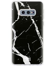 HappyCase Galaxy S10E Flexibel TPU Hoesje Marmer Print
