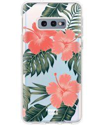 HappyCase Galaxy S10E Flexibel TPU Hoesje Tropic Vibe Print