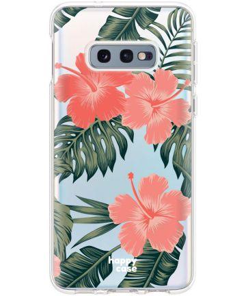 HappyCase Galaxy S10E Flexibel TPU Hoesje Tropic Vibe Print Hoesjes