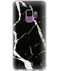 HappyCase Galaxy S9 Flexibel TPU Hoesje Marmer Print