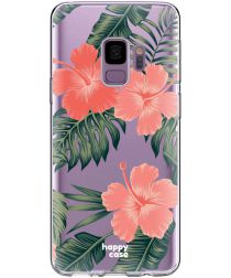 HappyCase Galaxy S9 Flexibel TPU Hoesje Tropic Vibe Print