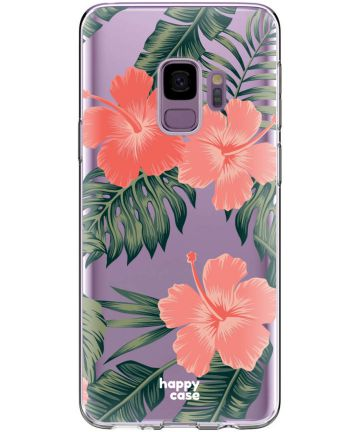 HappyCase Galaxy S9 Flexibel TPU Hoesje Tropic Vibe Print Hoesjes