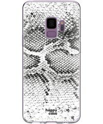 HappyCase Galaxy S9 Flexibel TPU Hoesje Slangen Print