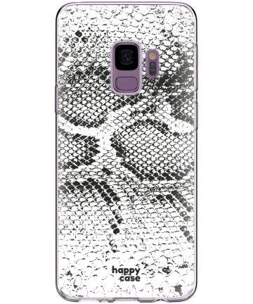 HappyCase Galaxy S9 Flexibel TPU Hoesje Slangen Print Hoesjes
