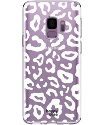 HappyCase Galaxy S9 Flexibel TPU Hoesje Luipaard Print