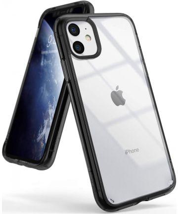 Ringke Fusion Apple iPhone 11 Hoesje Smoke Black Hoesjes