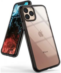 Ringke Fusion Apple iPhone 11 Pro Max Hoesje Smoke Black