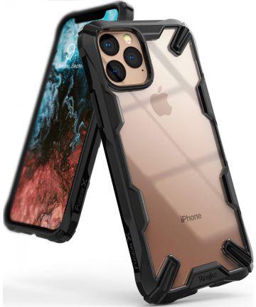 Ringke Fusion X Apple iPhone 11 Pro Hoesje Transparant / Zwart Hoesjes