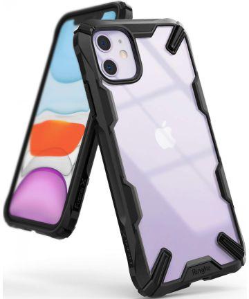 Ringke Fusion X Apple iPhone 11 Hoesje Transparant / Zwart Hoesjes