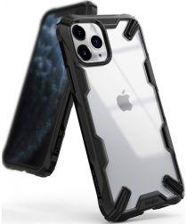 Ringke Fusion X Apple iPhone 11 Pro Max Hoesje Transparant / Zwart