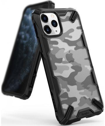 Ringke Fusion X Apple iPhone 11 Pro Hoesje Camo Black Hoesjes