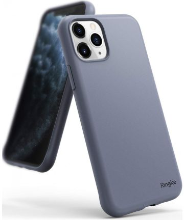 Ringke Air S Apple iPhone 11 Pro Max Hoesje Lavender Gray Hoesjes