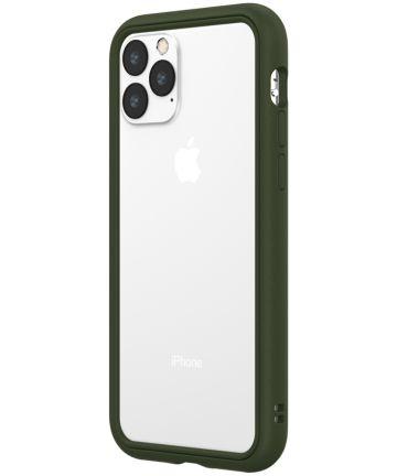 RhinoShield CrashGuard NX Apple iPhone 11 Pro Hoesje Bumper Groen Hoesjes