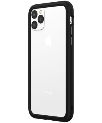 RhinoShield CrashGuard NX Apple iPhone 11 Pro Max Bumper Hoesje Zwart Hoesjes