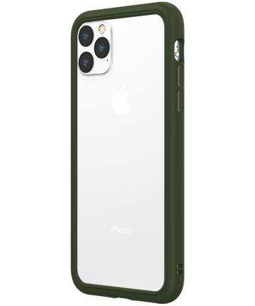 RhinoShield CrashGuard NX Apple iPhone 11 Pro Max Bumper Hoesje Groen Hoesjes