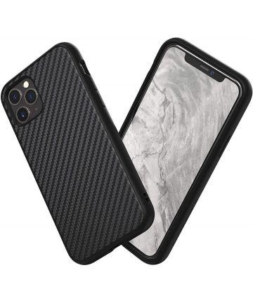 RhinoShield SolidSuit Apple iPhone 11 Pro Max Hoesje Carbon Fiber Hoesjes