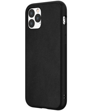 RhinoShield SolidSuit Apple iPhone 11 Pro Hoesje Leather Zwart Hoesjes